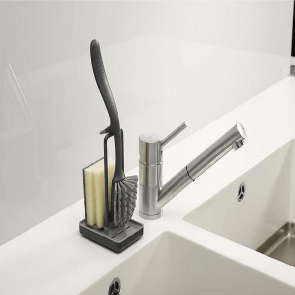 63-Store-Dish-Brush-Sink-Tidy-Set-Grey